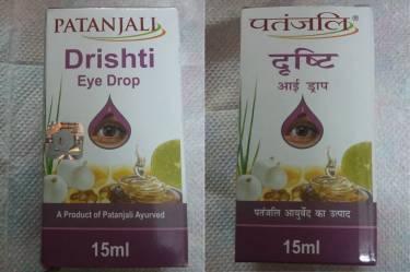 Patanjali Drishti Eye Drop Packaging