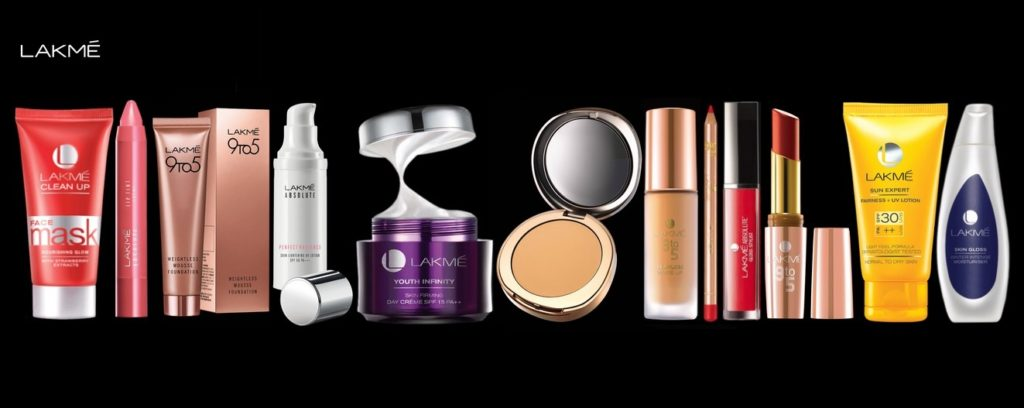 Lakme India Cosmetic Products List with Price