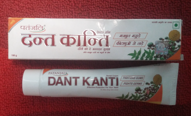 Patanjali Dant Kanti Toothpaste Review