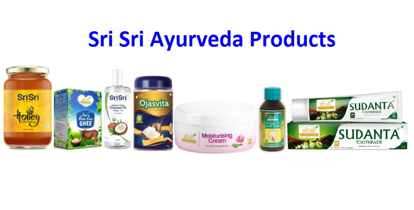 Sri Sri Ayurveda Products