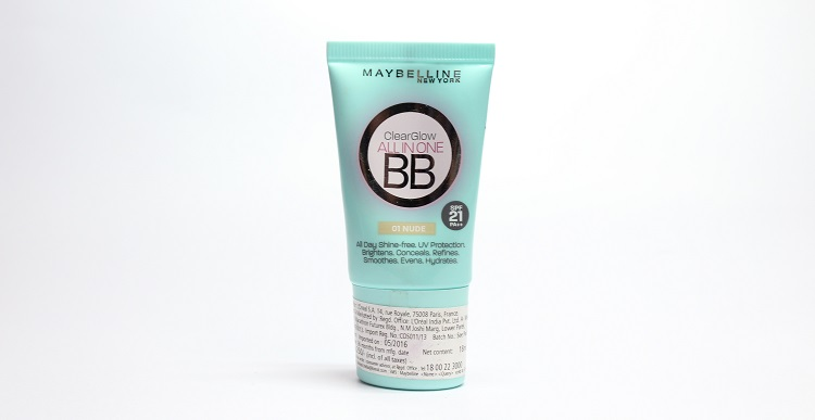 Maybelline clearglow bb cream review