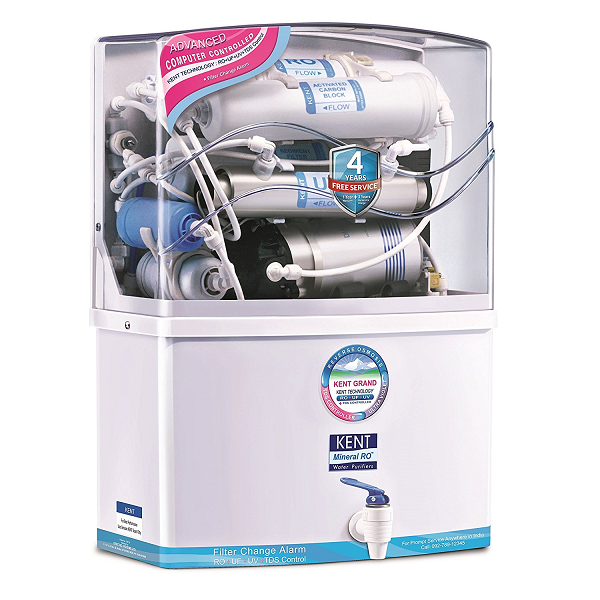 Kent Grand 8 Litre RO+UV - best water purifiers in India